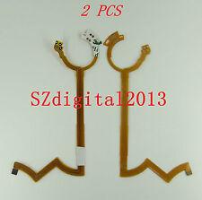 2pcs / Apertura De Lente Flex Cable Para Tamron Sp Af 24-135mm Canon interfaz