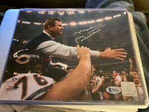 Mike Ditka Signed 8x10 Auto Chicago Bears BAS