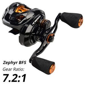 KastKing Zephyr Baitcasting Fishing Reel 7 Ball Bearings 7.2:1 Gear Ratio 4.5kg
