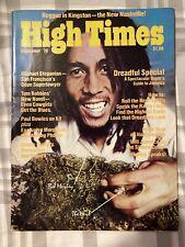1976 High Times Magazine Feat Bob Marley