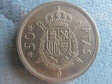 Moneda 50 pesetas españa 1975. Ceca 78