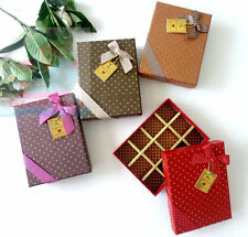 1/ 3/ 6/9PCS rectangle Favor Gift Box 12 CELLS for chocolates/ sweets /candies