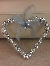 Silver Bells Heart Wall Hanging Just Stored In Cupboard
