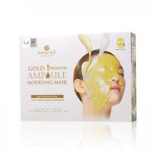 Shangpree Gold Premium AMPOULE Modeling Mask 50g*5pcs AntiAging Korean Cosmetics