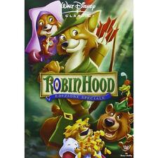 DVD ROBIN HOOD DISNEY Nuovo Originale SIGILLATO In Italiano Da Negozio!!!