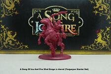A Song Of Ice And Fire Figurine Khal Drogo à cheval Targaryen Starter Set