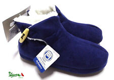 DEFONSECA ciabatte pantofole chiuse scarpe donna invernali calde Blu TRENTO W407