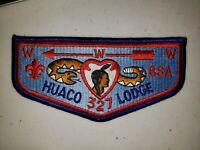 Boy Scout OA 327 Huaco Lodge Flap S13a