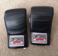 Contender Ringside Boxing Bag Gloves Black And White