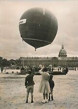 "PARIS 1955 - Charles Dolfus ""Envol Ballon libre"" Esplanade des Invalides - PR 96"