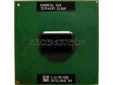 CPU Intel Celeron M 360 1.4/1M/400 1.4GHz M360 mobile SL86K 400mhz processore