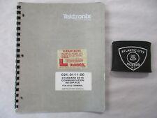 Tektronix 021-0111-00 Standard Data Communicat Interface 4023 Instruction Manual