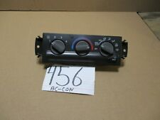 98 99 00 01 02 Chevrolet S-10 Blazer AC and Heater Control Used Stock #456-AC