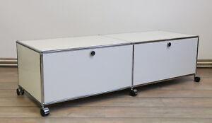 Aktenschrank, Sideboard, Lowboard mit Rollen  USM Haller 300118-02