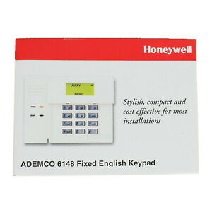 Honeywell / Ademco 6148 Fixed English Display Keypad (BRAND NEW/SEALED) FAST Shp