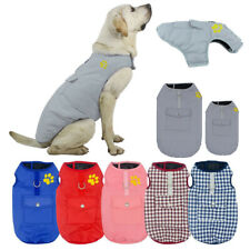 Pet Dogs Waterproof Jackets Cat Puppy Vest Coats Winter Warm Clothes Apparel