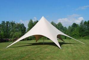 Commercial Wedding Event Graduation Beach Yard Patio Pool Star Stretch Tent NEW