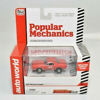 "Auto World 1967 Mercury Cougar ""Popular Mechanics"" T-jet Slot Car"