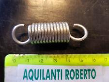 molla a trazione in acciao armonico zincato filo 2mm - L48mm - ø14,5 mm 98478