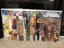 Heroes In Crisis 1,2,3,4,5,6,7,8,9 - DC, King, Harley Quinn, Complete Run Mann