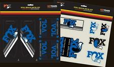Fox Racing Shox - 803-00-930 - Heritage Decal Kit, Float Evol Blue
