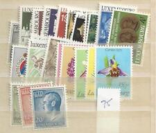 1975 MNH Luxemburg year collection, jaargang, Postfris