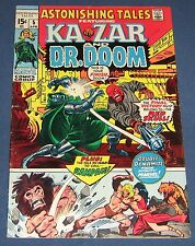 Astonishing Tales #5  April 1971  Dr. Doom