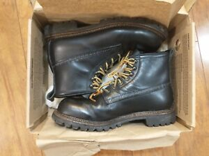 Rare Red Wing 2930 Ice Cutter Heritage Black Boots Size 9 D