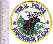 American Indian Tribe Police Alaska Kongiganak Community Police Department