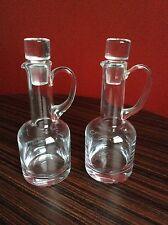 Oil & Vinegar Crystal Glass Bottle Drizzler Set L2