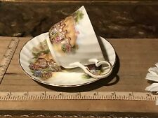 English Cottage Heirloom Cup and Saucer