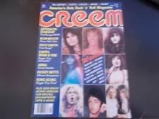 ABBA, Graham Parker, Ron Wood, Patti Smith - Creem Magazine 1977