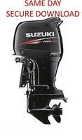2002-2008 Suzuki DF60 DF70 Outboard Motor Service Manual  FAST ACCESS