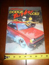 1984 DODGE COLT TURBO - ORIGINAL ARTICLE