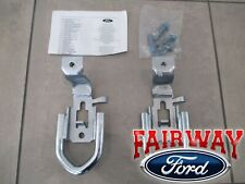 19 - 20 Ranger OEM Ford Parts Chrome Tow Hooks PAIR w/ Hardware - 4x4 Model ONLY