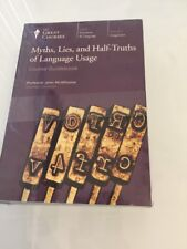 Great Courses 12 CD& Book Myths, Lies & Half-Truths of Language Usage McWhorter