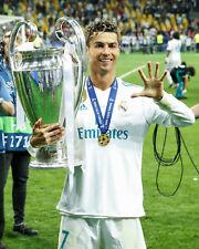 Christiano Ronaldo Real Madrid Champions League Unsigned 8x10 Photo #11
