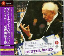 GUNTER WAND & BERLINER...-BRUCKNER: SYMPHONY NO.5-JAPAN SACD Hybrid F30