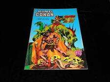 Conan album Artima Marvel géant : King Conan : L'antre de la mort