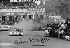 Arturo Merzario firmato 12x8, SEFAC-FERRARI 312PB, TARGA FLORIO 1973