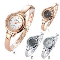 NEU Luxus Edelstahl Damenuhr Quarzuhr Uhr Kristall Analog Mode Casual Watch Gift