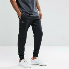 Under Armour Mens Sports Joggers Black Track pants Jogging Trousers Size Small