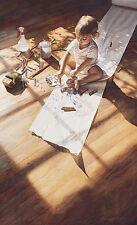 """Steve Hanks """" Young At Art """" 184/4500 MINT  W/COA $450 VALUE! Rare"""