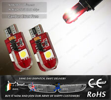 W5W 501 T10 Wedge LED SMD Xenon White CanBus Side Lights Parking Bulbs 12V