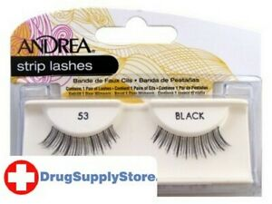 BL Andrea Lashes Strip Style 53 Black - Two PACK