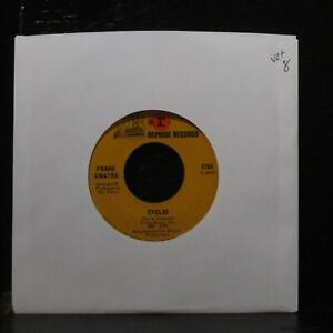 "Frank Sinatra - My Way Of Life / Cycles 7"" VG+ Reprise 0764 USA 1968"