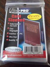 ULTRA PRO CARD SLEEVES 100 PER PACK