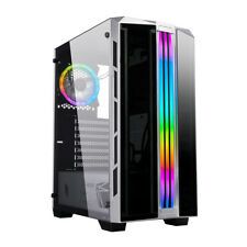 CASE ATX  PC GAMING VENTOLA DUAL HALO ADDRESSABLE+STRIP ARGB FRONTALE ABS/MESH