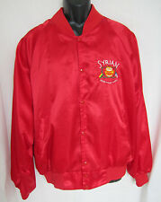 Vintage Hartwell Satin Jacket Shriners Drum Bugle Corps Free Masons Lined XL