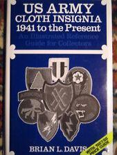 Catalogo sulle toppe, badge in stoffa dell'esercito americano USA dal 1941 oggi